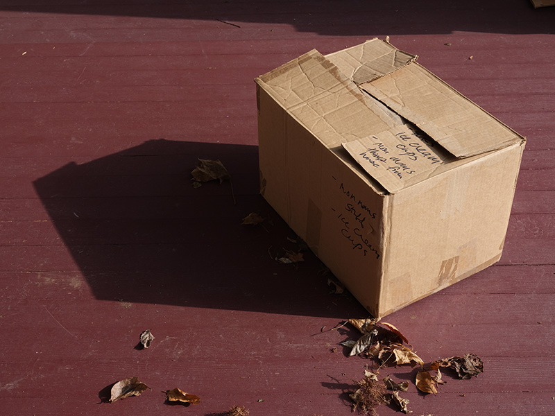 Heart on door with cross, Penna. 2007