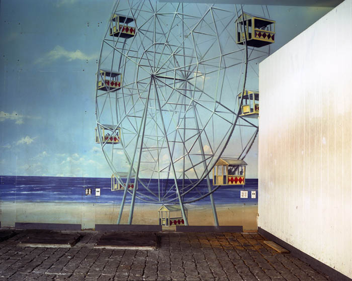 Ferris Wheel mural, Broadway Arcade, Times Square 2004