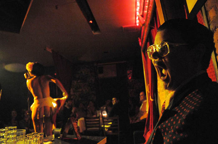 Murray Hill MC's This Is Burlesque at Corio