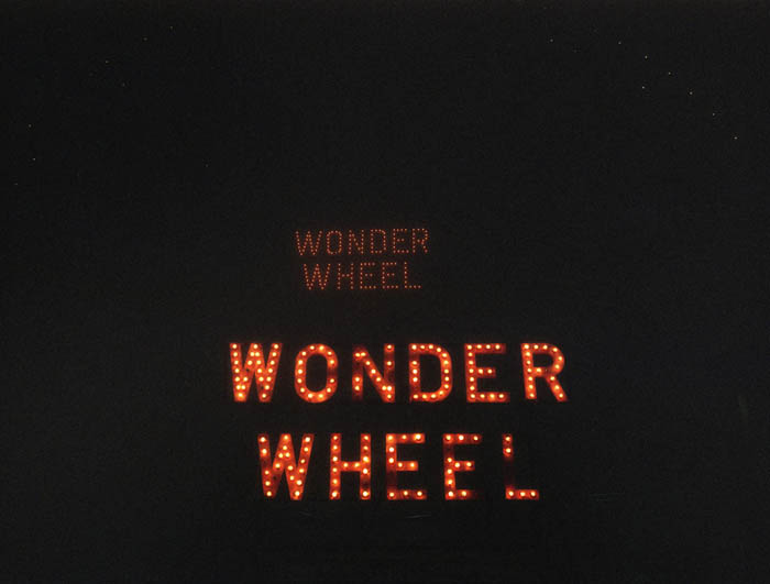 Wonder Wheel at night, Coney island, 2004
