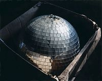 Disco ball in box, Conn. 2008