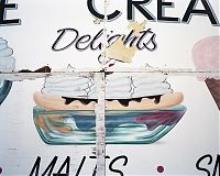 Ice Cream Delights sign, Wildwood, NJ 2010