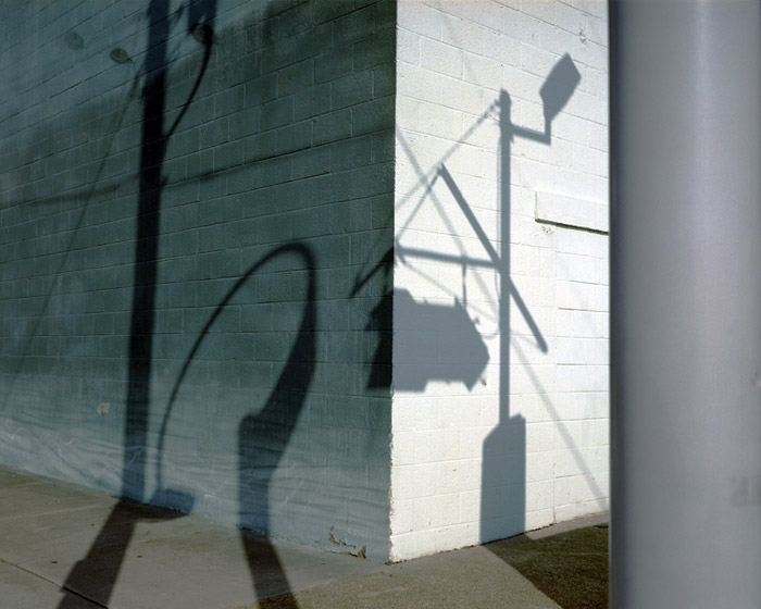 Corner with shadows, Wildwood, NJ 2010