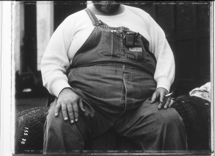 Dad&#039;s belly, Trainer, Penna. 1998