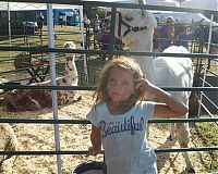 Life is Beautiful, a girl at 4-H fair, CT 2017