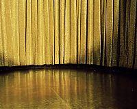 Gold curtain, Poconos resort, PA 2005