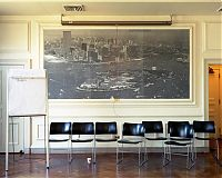 """Strategies"", Meeting Room in Building 125, Governors Island, NY 2004"