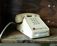 Classified phone, Governors Island, NY 2004