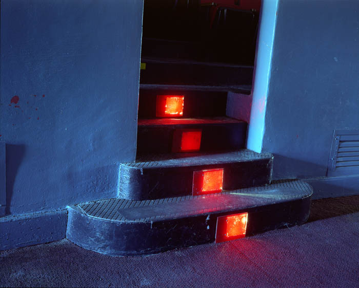 Theatre steps, Governors Island, NY 2003